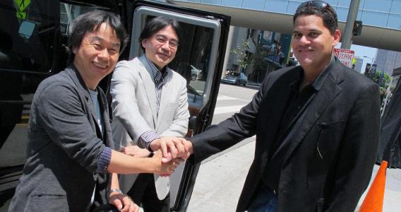 Risultati immagini per reggie iwata miyamoto
